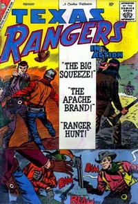Cover Thumbnail for Texas Rangers in Action (Charlton, 1956 series) #20