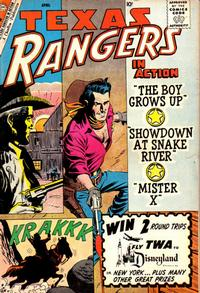 Cover Thumbnail for Texas Rangers in Action (Charlton, 1956 series) #21