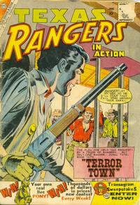 Cover Thumbnail for Texas Rangers in Action (Charlton, 1956 series) #22