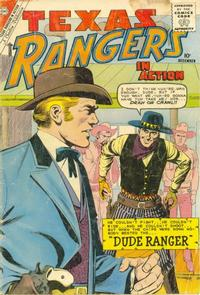 Cover Thumbnail for Texas Rangers in Action (Charlton, 1956 series) #25