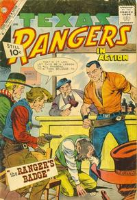 Cover Thumbnail for Texas Rangers in Action (Charlton, 1956 series) #28