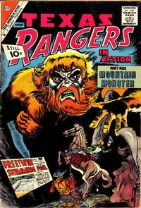 Cover Thumbnail for Texas Rangers in Action (Charlton, 1956 series) #29