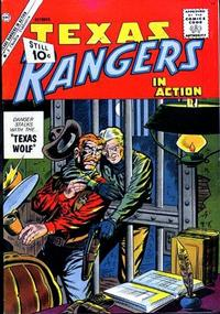 Cover Thumbnail for Texas Rangers in Action (Charlton, 1956 series) #30