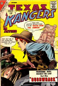 Cover Thumbnail for Texas Rangers in Action (Charlton, 1956 series) #35