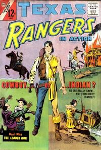 Cover Thumbnail for Texas Rangers in Action (Charlton, 1956 series) #40