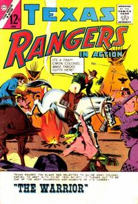 Cover Thumbnail for Texas Rangers in Action (Charlton, 1956 series) #45