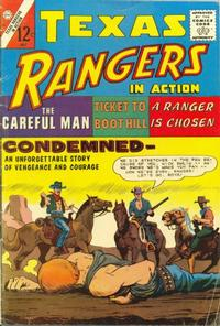 Cover Thumbnail for Texas Rangers in Action (Charlton, 1956 series) #50