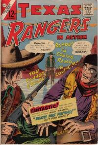 Cover Thumbnail for Texas Rangers in Action (Charlton, 1956 series) #53