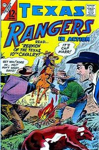 Cover Thumbnail for Texas Rangers in Action (Charlton, 1956 series) #59