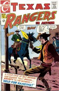 Cover Thumbnail for Texas Rangers in Action (Charlton, 1956 series) #68