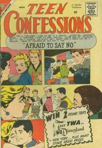 Cover for Teen Confessions (Charlton, 1959 series) #4
