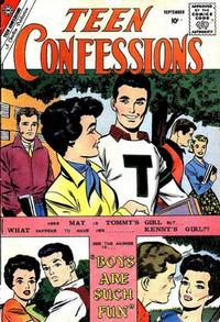 Cover Thumbnail for Teen Confessions (Charlton, 1959 series) #7