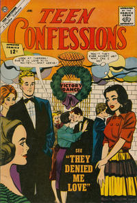 Cover Thumbnail for Teen Confessions (Charlton, 1959 series) #17