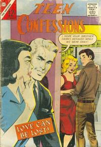 Cover Thumbnail for Teen Confessions (Charlton, 1959 series) #21
