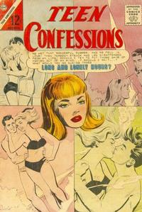 Cover Thumbnail for Teen Confessions (Charlton, 1959 series) #36