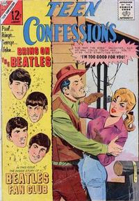 Cover Thumbnail for Teen Confessions (Charlton, 1959 series) #37