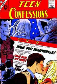 Cover Thumbnail for Teen Confessions (Charlton, 1959 series) #38