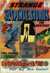 Cover Thumbnail for Strange Suspense Stories (Charlton, 1955 series) #52