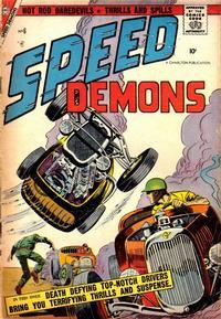 Cover Thumbnail for Speed Demons (Charlton, 1957 series) #6
