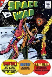 Cover Thumbnail for Space War (Charlton, 1959 series) #14