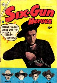 Cover Thumbnail for Six-Gun Heroes (Charlton, 1954 series) #27