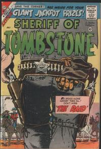 Cover Thumbnail for Sheriff of Tombstone (Charlton, 1958 series) #4