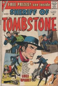 Cover Thumbnail for Sheriff of Tombstone (Charlton, 1958 series) #6