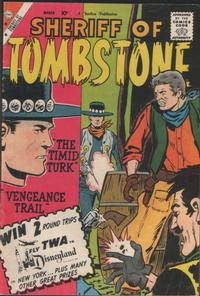 Cover Thumbnail for Sheriff of Tombstone (Charlton, 1958 series) #8