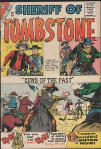 Cover Thumbnail for Sheriff of Tombstone (Charlton, 1958 series) #9