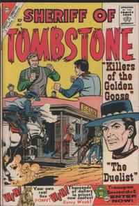 Cover Thumbnail for Sheriff of Tombstone (Charlton, 1958 series) #10