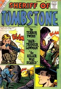 Cover Thumbnail for Sheriff of Tombstone (Charlton, 1958 series) #12