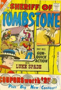 Cover Thumbnail for Sheriff of Tombstone (Charlton, 1958 series) #14