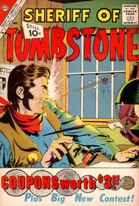 Cover Thumbnail for Sheriff of Tombstone (Charlton, 1958 series) #15