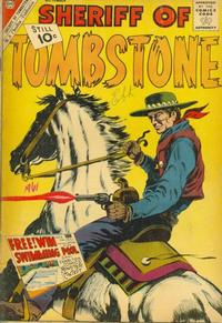 Cover Thumbnail for Sheriff of Tombstone (Charlton, 1958 series) #17