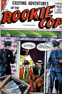 Cover Thumbnail for Rookie Cop (Charlton, 1955 series) #31