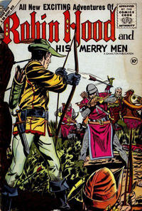 Cover Thumbnail for Robin Hood and His Merry Men (Charlton, 1956 series) #28