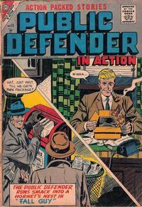 Cover Thumbnail for Public Defender in Action (Charlton, 1956 series) #11