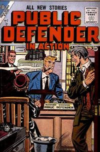 Cover Thumbnail for Public Defender in Action (Charlton, 1956 series) #7