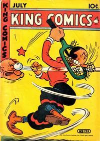 Cover Thumbnail for King Comics (David McKay, 1936 series) #123