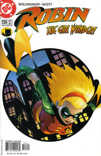 Cover Thumbnail for Robin (DC, 1993 series) #126 [Direct Sales]