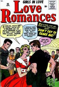 Cover Thumbnail for Love Romances (Marvel, 1949 series) #83