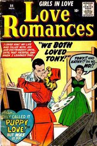 Cover Thumbnail for Love Romances (Marvel, 1949 series) #84