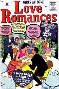 Cover Thumbnail for Love Romances (Marvel, 1949 series) #87
