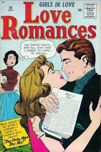 Cover Thumbnail for Love Romances (Marvel, 1949 series) #89