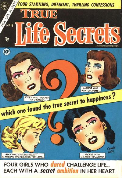 Cover for True Life Secrets (Charlton, 1951 series) #19