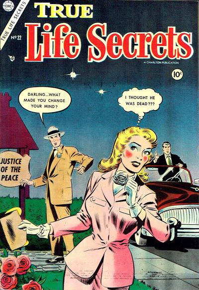 Cover for True Life Secrets (Charlton, 1951 series) #22