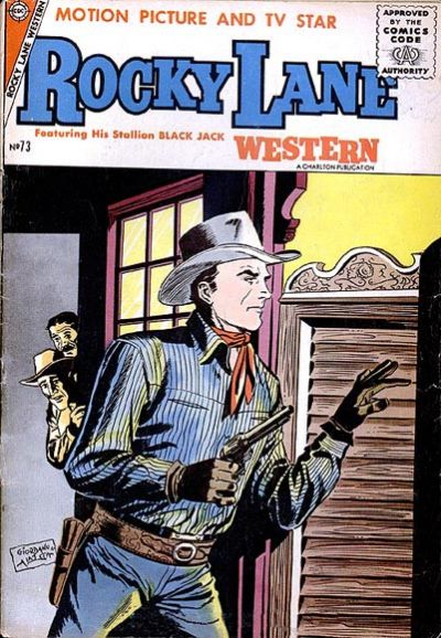 Cover for Rocky Lane Western (Charlton, 1954 series) #73
