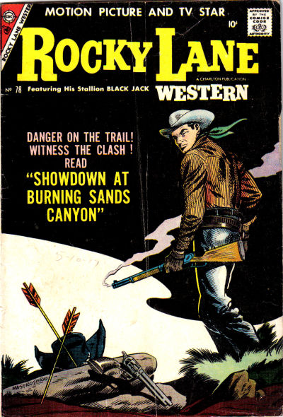 Cover for Rocky Lane Western (Charlton, 1954 series) #78