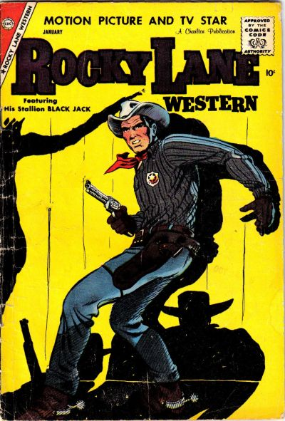 Cover for Rocky Lane Western (Charlton, 1954 series) #83