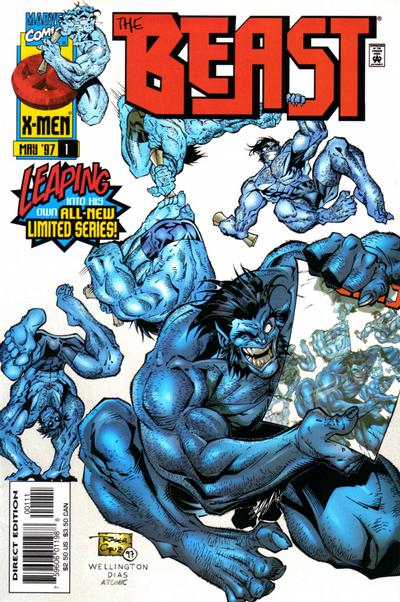 Cover for Beast (Marvel, 1997 series) #1 [Direct Edition]